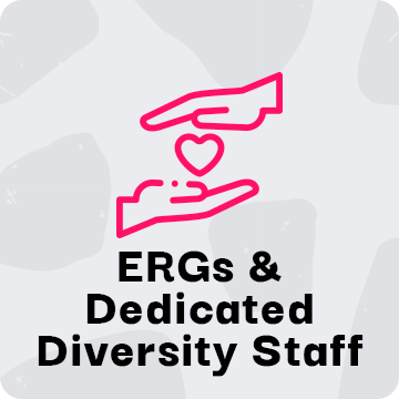 ERGs & Dedicated Diversity Staff