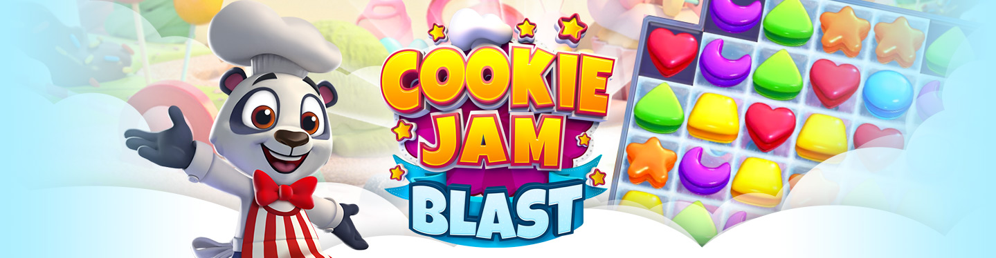 Cookie Jam Blast Header