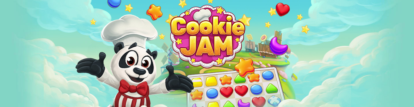 Cookie Jam Header
