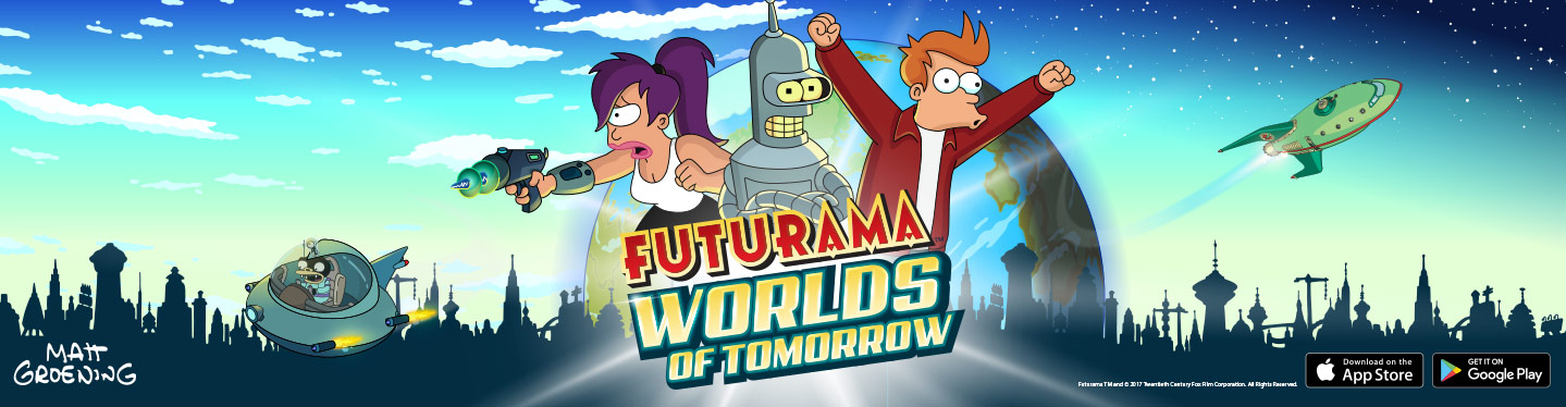 Futurama: Worlds of Tomorrow Header