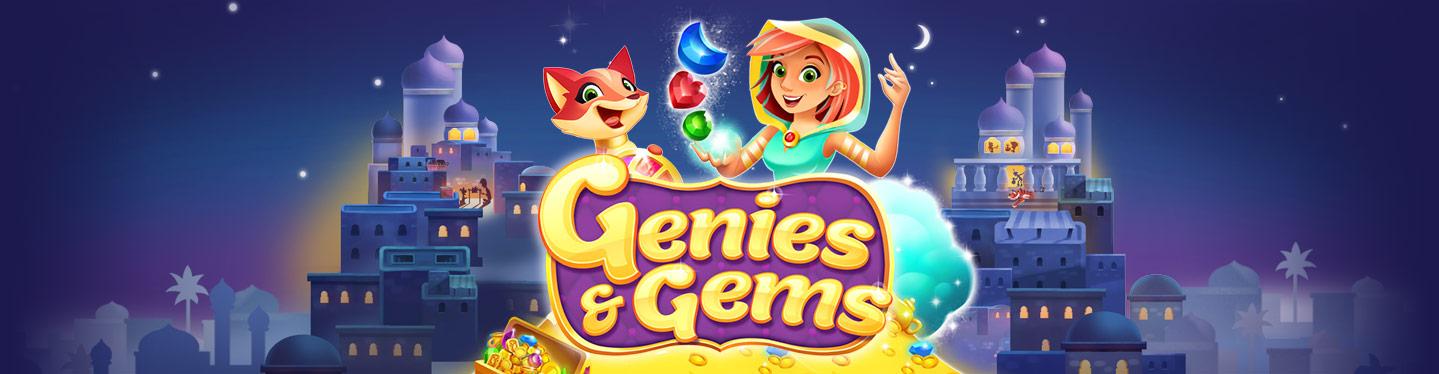 Genies & Gems Header