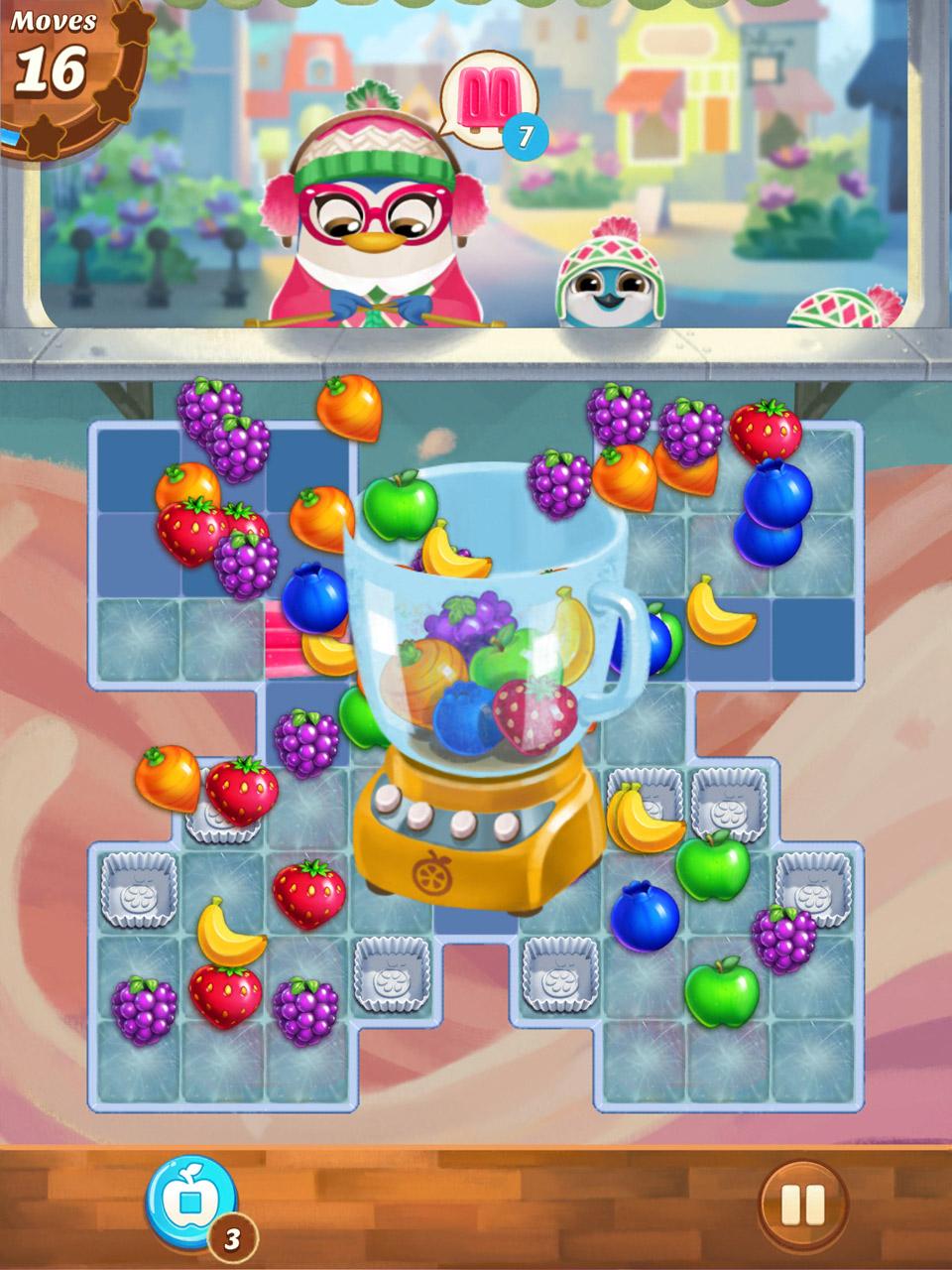 Fruit jam game - Juice Jam Screenshot 1