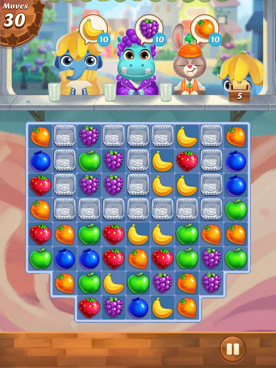 Fruit jam game -  Juice Jam Screenshot 5