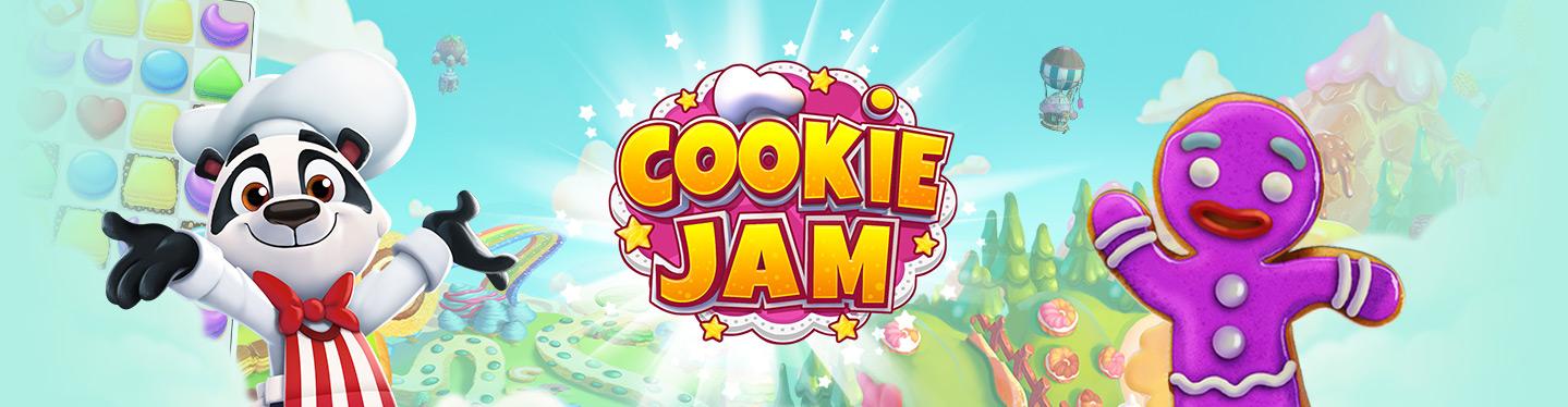 Cookie Jam Header