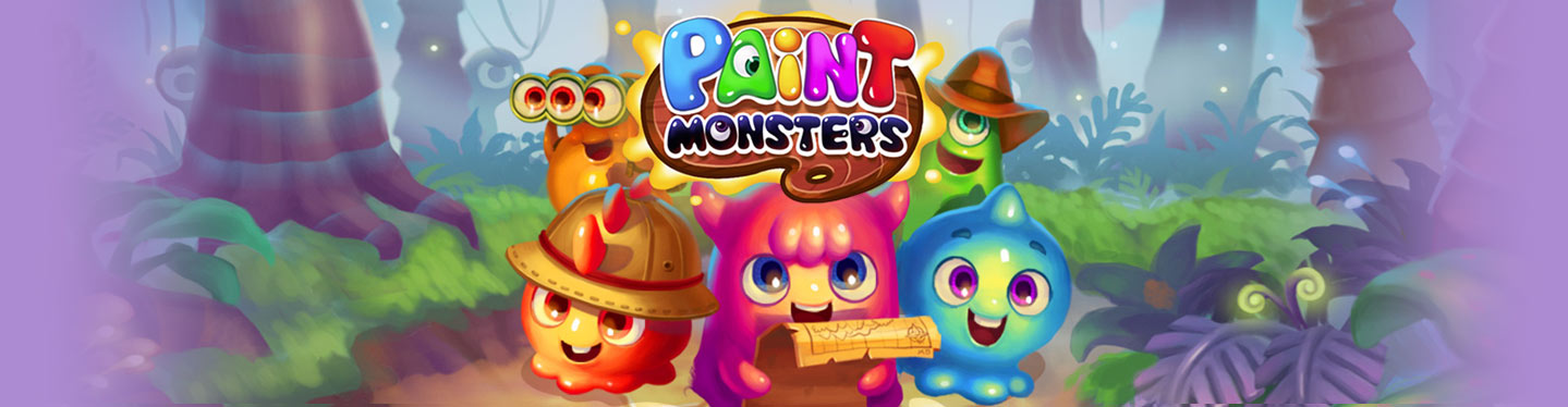 Paint Monsters Header