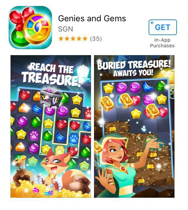 gems and genies